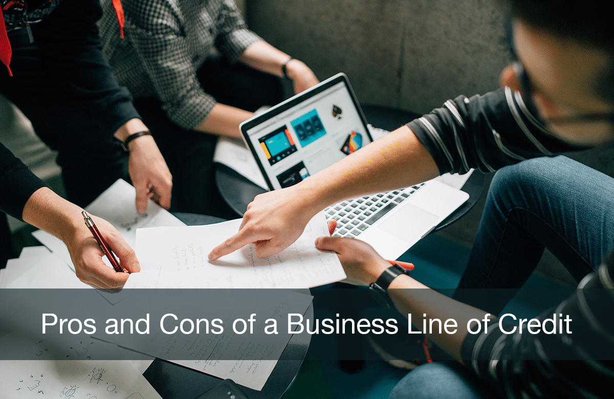 image for blog on pros & cons of business line of credit