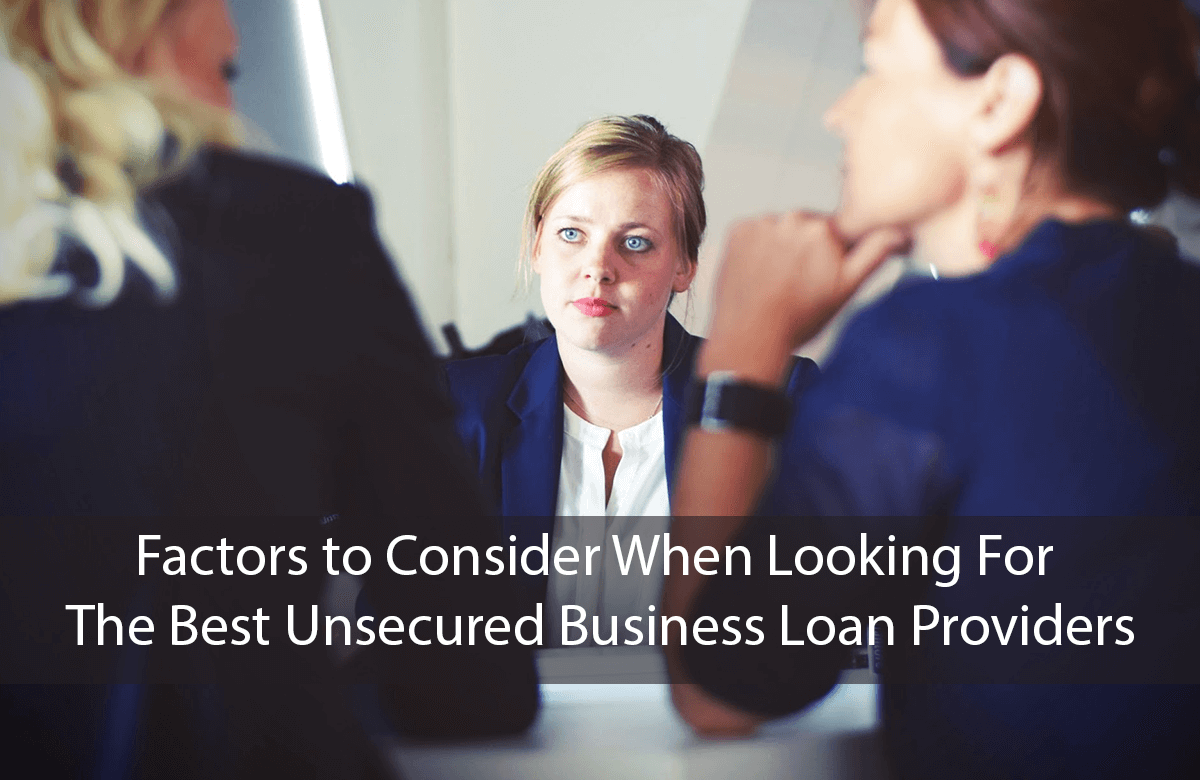 Image for blog on unsecured business loans provider