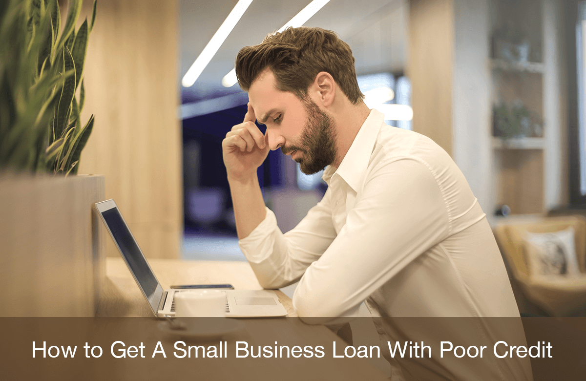 Image for how to get a business loan with bad credit