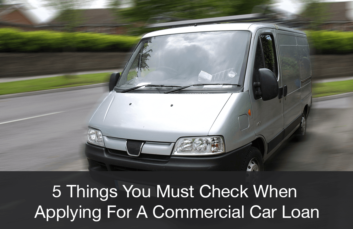 Image for the factors to get a commercial car loan