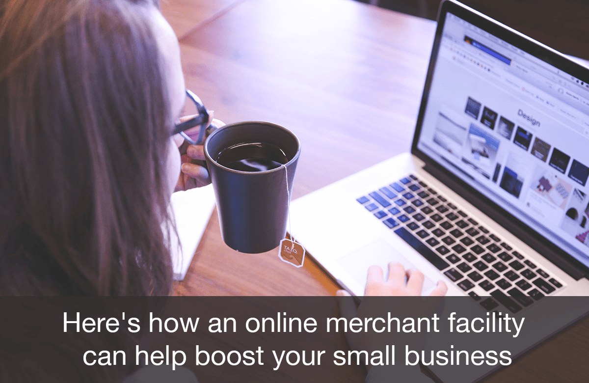 Image for Online Merchant Facility for Small Business