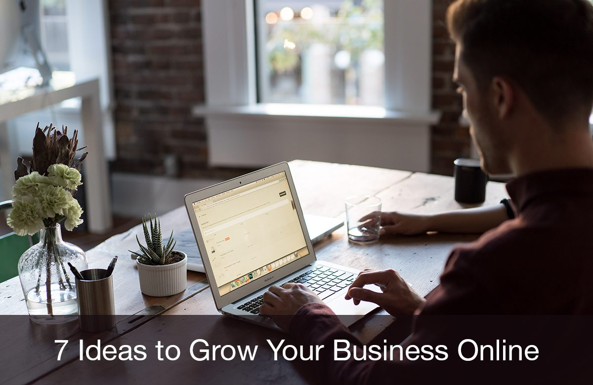 Image for Ideas to grow your business online