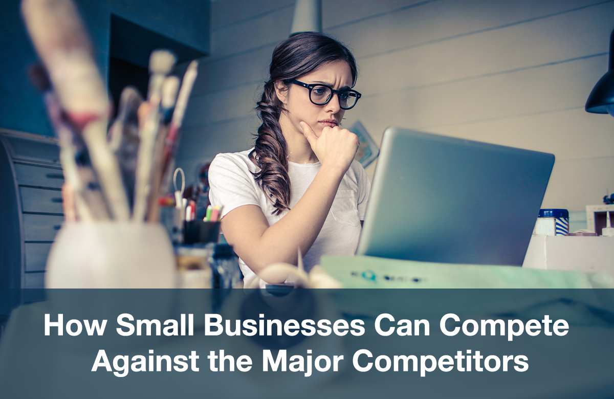 Image for how small businesses can compete against the major competitors