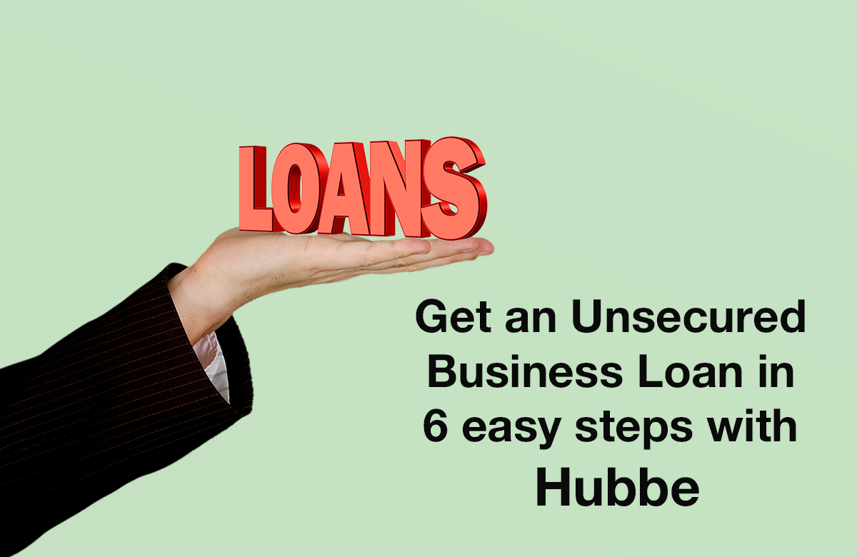 Image for unsecured business loans with Hubbe