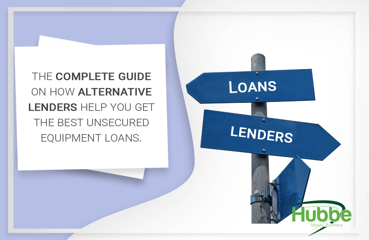 alternative lenders for equipment finance