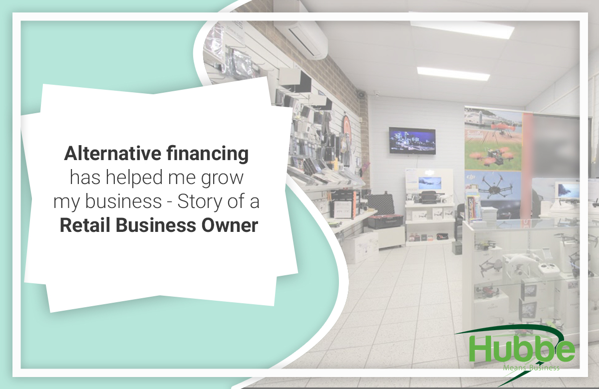 How lalternative financing helped a retail business owner in business expansion